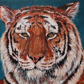 Tiger Painting Upper North Shore Sydney
