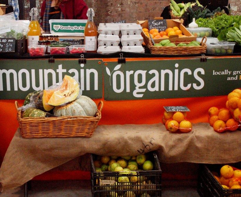 Mountain Organics Stall