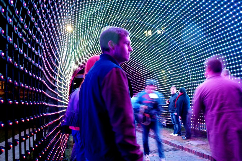 VIVID Sydney Light Tunnel