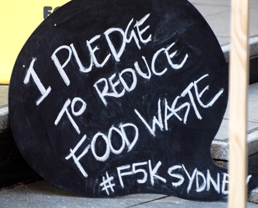 I pledge to reduce food waste #F5KSydney