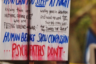 Compassion wanted #marchinmarch