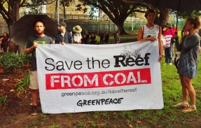 Save the Reef! #marchinmarch