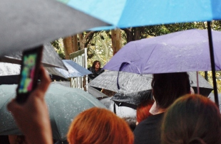 Rain hail or shine #marchinmarch