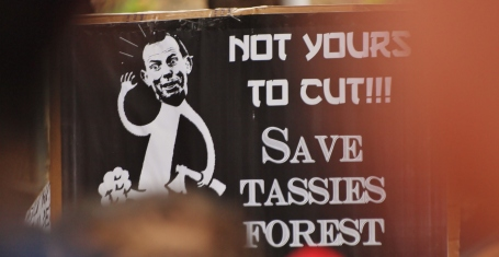 Save Tasmania's Forests #marchinmarch