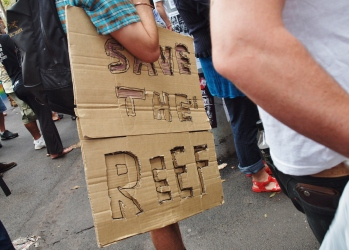 Save the Reef #FightForTheReef #marchinmarch