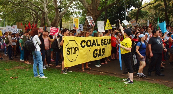 Stop Coal Seam Gas around Australia #marchinmarch