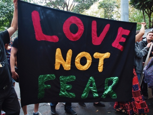 Love not fear #marchinmarch