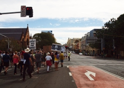Left, right or just against wrong? #marchinmarch