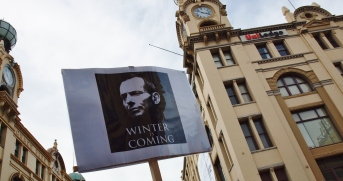 Winter is Coming #marchinmarch