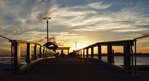 Bongaree Sunset, Bribie Island Queensland