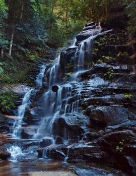 Sylvia Falls Blue Mountains Photography
