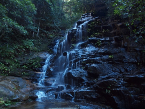 Sylvia Falls Blue Mountains Photography