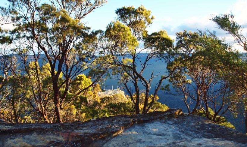 Wentworth Falls Bushwalking Hiking Blue Mountains Photography