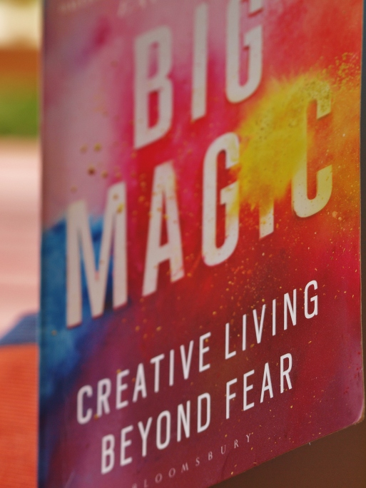 Big Magic by Elizabeth Gilbert, best!