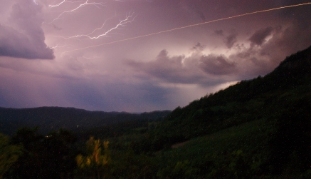 Lightning Storm at Toolond Plantation