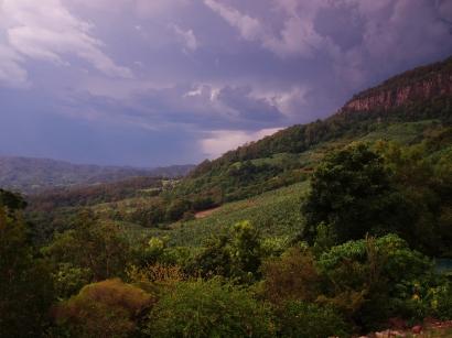 Lightning Storm at Toolond Plantation