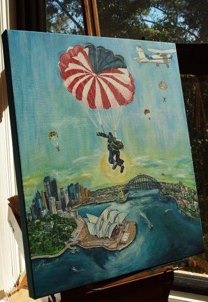 Sydney Harbour Painting