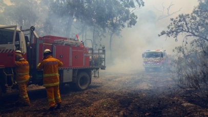 Masonite Road Fire Tomago Port Stephens Newcastle