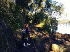 Cowan to Berowra Waters Freeman's Fitness hike (1)