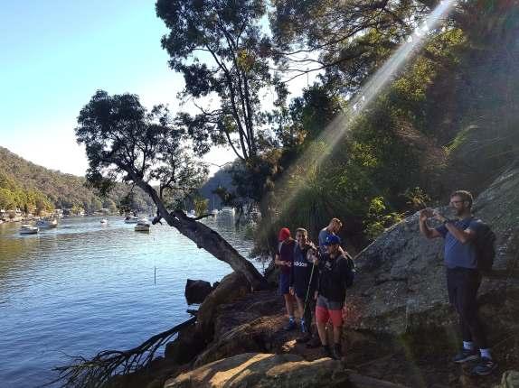 Cowan to Berowra Waters Freeman's Fitness hike (10)