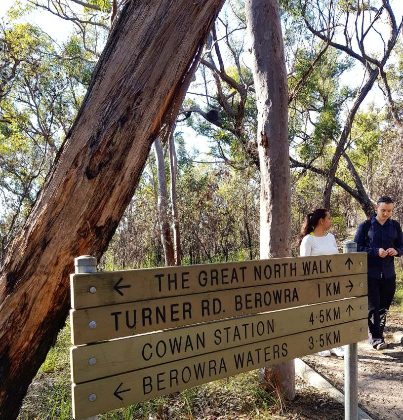Cowan to Berowra Waters Freeman's Fitness hike (3)