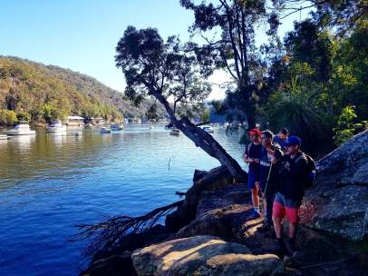 Cowan to Berowra Waters Freeman's Fitness hike (8)